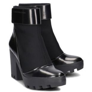 Взуття Ботинки жіночі CALVIN KLEIN JEANS SISTER NEOPRENE/BOX SMOOTH