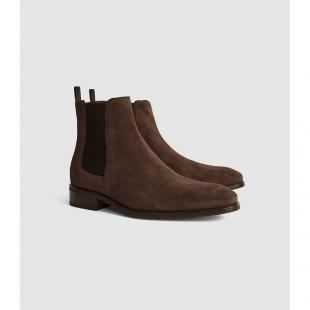 Взуття Ботинки чоловічі REISS DERMON CHELSEA BOOT SUEDE 1