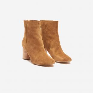 Взуття Ботинки жіночі Sandro CH1372E beige