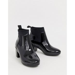 Взуття Ботинки жіночі HUNTER Glossy Chelsea Welly Boot