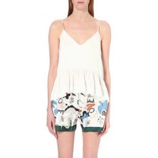 Жіночий одяг Блуза Sandro e10526e white