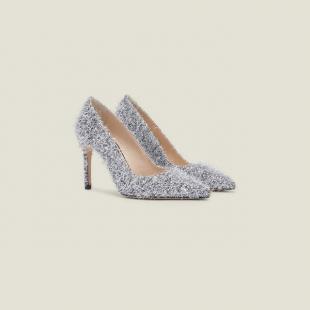 Взуття Туфлі жiночі Sandro SFACH00219 silver