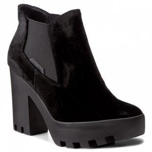 Взуття Ботинки жіночі CALVIN KLEIN JEANS SANDY VELVET black