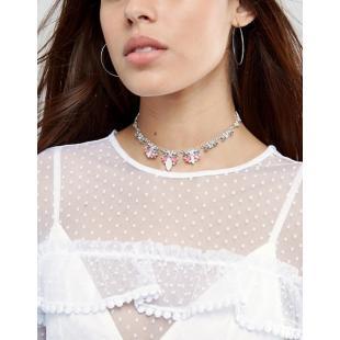 Жіночий одяг Аксесуар Кольє Johnny Loves Rosie Gold And Blush Tie Necklace