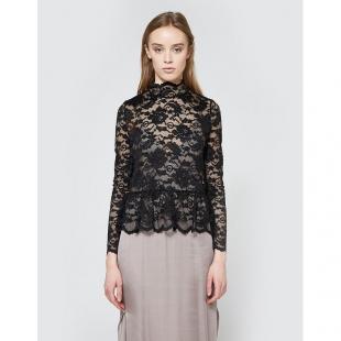 Жіночий одяг Блуза GANNI 3310 Flynn Lace Black