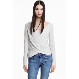Жіночий одяг Кофта HM 6926720 grey