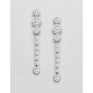 Жіночий одяг Аксесуар Прикраси LoveRocks London Pearl Cluster Statement Earrings