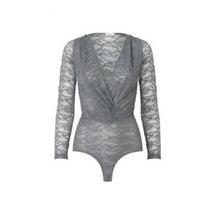 Жіночий одяг Боді GANNI 5183 Annushka Lace Grey