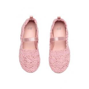 Взуття Дитяче взуття Балетки HM 2080400 pink