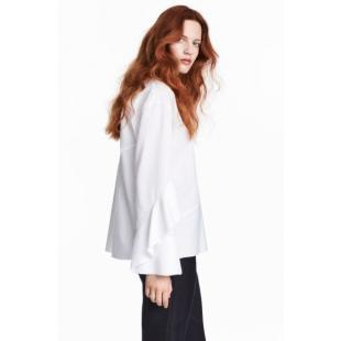 Жіночий одяг Блуза HM Conscious 361060 white