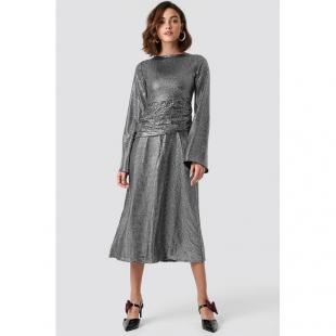 Жіночий одяг Сукня NA-KD 1018-001432 silver