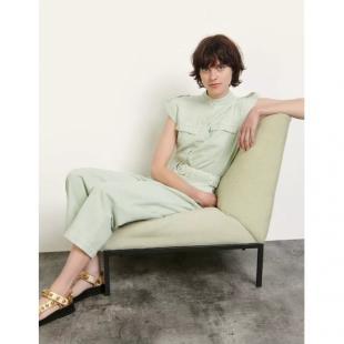Жіночий одяг Комбінезон Sandro sfpco00095 mint