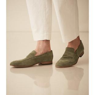 Взуття Туфлі чоловічі REISS THISTLE CASUAL LOAFER SUEDE 1