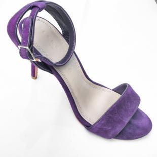 Взуття Босоніжки Sandro purple dark  heels