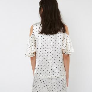Жіночий одяг Блуза GANNI 1660 Leclair Satin