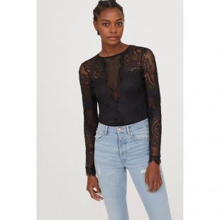 Жіночий одяг Боді HM 147921 black