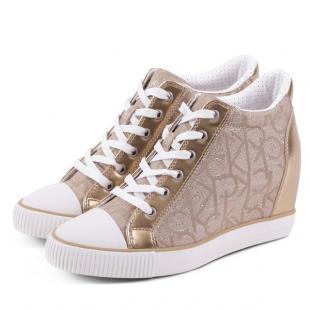 Взуття Спортивне взуття CALVIN KLEIN JEANS RAMONA METALLIC JACQUARD/NAPPA