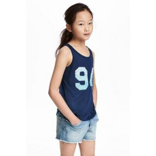 Дитячий одяг Футболка HM 544690 Navy