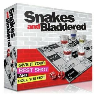 Аксесуар ASOS SNAKES AND BLADDERED DRINKING GAME