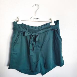 Жіночий одяг Шорти naf naf JHNB2 Olive
