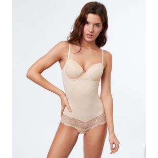 Жіночий одяг Білизна Боді ETAM 6481730 Rose body beige
