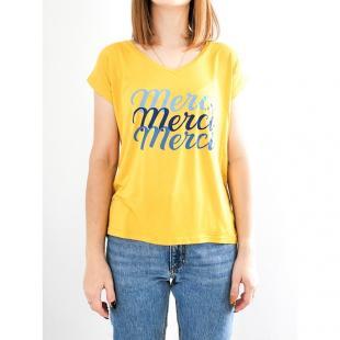 Жіночий одяг Футболка purple's Merci yellow