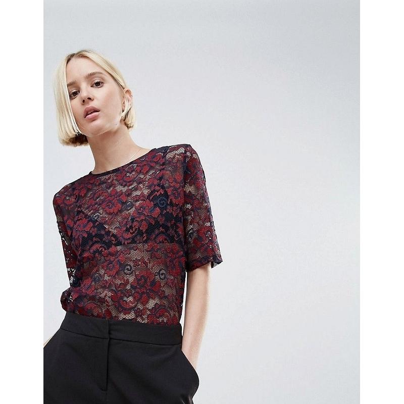 Жіночий одяг Блуза GANNI 3310 Flynn Lace Top